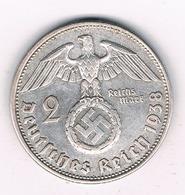 2 MARK 1938 B  DUITSLAND /3264G/ - [ 4] 1933-1945 : Troisième Reich