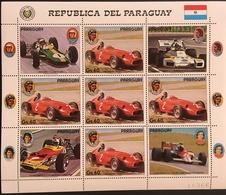 Paraguay 1989 Formula 1,Drivers Race Cars - Paraguay