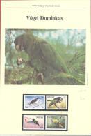 WWF Dominica   Michel #  836 - 39  ***  Mit Kapitel In Deutsche Sprache - W.W.F.