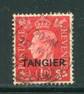 MAROC ANGLAIS- TANGER- Y&T N°16- Oblitéré - Postämter In Marokko/Tanger (...-1958)
