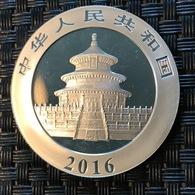 CHINA - 10 Yuan - Panda - 2016 Silver - Cina