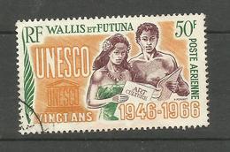 Wallis Et Futuna PA N°28 Cote 4.60 Euros - Luftpost