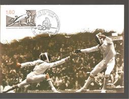 CHAMPIONNAT DU MONDE D ESCRIME - 1980-89