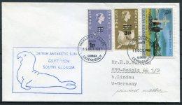 1981 South Georgia. F.I.D. British Antarctic Survey Grytviken Seal Cover - South Georgia