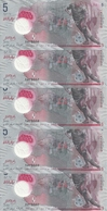 MALDIVES 5 RUFIYAA 2017 UNC P A26 ( 5 Billets ) - Maldives