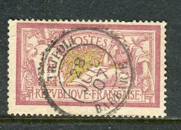 Superbe N° 121 Cachet Perlé De Tripoli ( Barbarie 1907 ) - Marcophilie (Timbres Détachés)