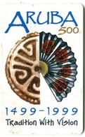 Setar ARU-Setar-112A - Aruba 500 - 1499-1999 Tradition With Vision (1999/01) - Aruba