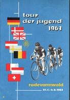 !  Alte Ansichtskarte Tour Der Jugend 1963 Radevormwald, Radsport, Cyclisme, Bicycle - Cycling