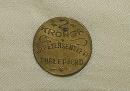 Dänemark/Denmark Färöer Inseln/Faroe Islands S.P. Petersens EFTF, 1929-1933, 2 Kroner Unc - Dänemark