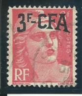 REUNION CFA: Obl., N° YT 294, Variété: + Petit En Hauteur. TB - Usati