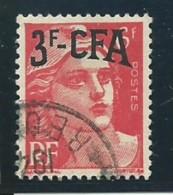 REUNION CFA: Obl., N° YT 294, Tb Centré. TB - Reunion Island (1852-1975)