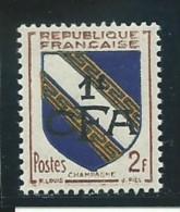 REUNION CFA:**., N° YT 308, TB - Reunion Island (1852-1975)