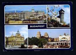 Hungría. Budapest. Circulada 1987, Rodillo Tinta Roja. - Hungría