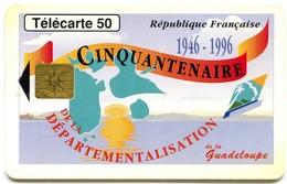 Pho:0628 Guadeloupe Cinquantenaire  (GEM1 Black) - Antilles (French)
