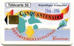 Pho:0628A Guadeloupe Cinquantenaire  (GEM1B White) - Antilles (French)