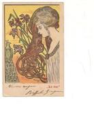 M5919 Illustratore Forse Mucha Kirckner Liberty 1902 Viaggiata - Ilustradores & Fotógrafos