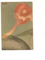 M5920 Illustratore Raphael Kirchner Liberty 1902 Viaggiata - Kirchner, Raphael