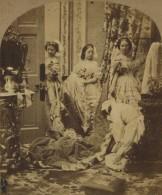 Stéréo Circa 1860 James Elliott . Going To Court . Scène De Genre . Habilleuse . - Stereoscoop