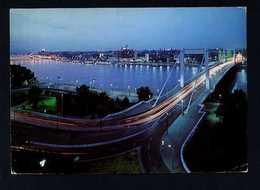 Hungría. Budapest *View Of The Elisabeth Bridge* Foto: MTI Tulok András. Circulada 1981. - Hungría