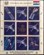 Paraguay 1989 Columbus Space Station - Paraguay