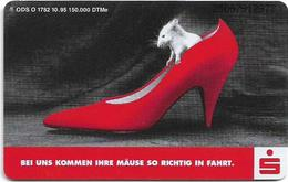 Germany - Stadtsparkasse Augsburg (Overprint Variant!) - O 1782 - 10.95, 6DM, Used - Germany