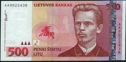 LITHUANIA - 500 Litu 2000 UNC P.64 - Lituanie