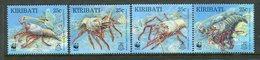 Kiribati 1998 Endangered Species - Spiny Lobster Set MNH (SG 552-55) - Kiribati (1979-...)