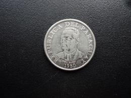 PARAGUAY : 10 GUARANIES  1980   KM 167    SUP 55 - Paraguay