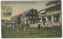 Monrovia Scene V.d. Inauguration D. Prasidenten P. Used Stamped  German Edition - Liberia