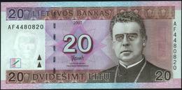 LITHUANIA - 20 Litu 2007 UNC P.69 - Lithuania