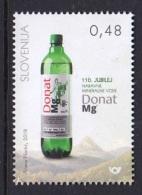 1.- SLOVENIA 2018 110th Ann Of Donat Mg Natural Mineral Water - Bebidas