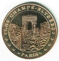 Monnaie De Paris 75.Paris - Les Champs Elysées 2010 - Monnaie De Paris