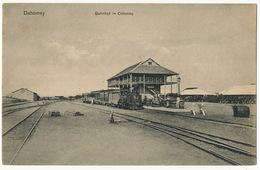 Dahomey Bahnhof In Cotonou Train  Mission Lomé 210 Gare - Dahomey