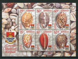 Kiribati 2003 Cowrie Shells MS MNH (SG MS673) - Kiribati (1979-...)