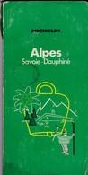 Alpes - Sovoie-Dauphiné - Michelin (Guides) 1972 - Michelin (guides)