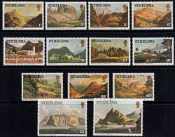 C0397 ST HELENA 1976, SG 319A - 331A Pictures Of ST Helena, MNH (small Marks On £2) - Isola Di Sant'Elena