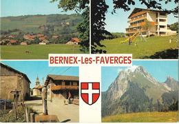 CPM/CPSM - BERNEX LES FAVERGES - Multivues - France