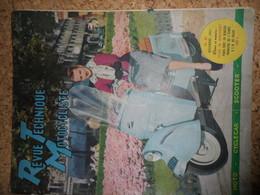 Revue Technique Motocycliste Décembre 1951, Scooter Bernardet - Alte Papiere
