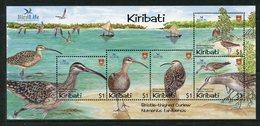 Kiribati 2004 Birdlife International - Part 1 - Shore Birds MS MNH (SG MS703) - Kiribati (1979-...)