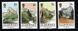 Alderney - 1986 Yv 28/31**,  Cote YV. € 17,50 - Alderney