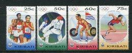 Kiribati 2004 Olympic Games, Athens Set MNH (SG 704-07) - Kiribati (1979-...)