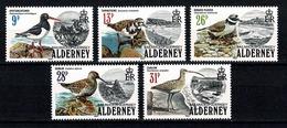 Alderney - 1984 Yv 13/17**,  Cote YV. € 25,00 - Alderney