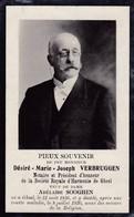 Souvenir Décès 1920 D Verbruggen Notaire Gheel Geel - Overlijden