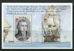 Kiribati 2005 Bicentenary Of Battle Of Trafalgar - 1st Issue - MS MNH (SG MS729) - Kiribati (1979-...)