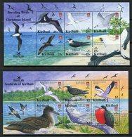 Kiribati 2005 Birdlife International - Part 2 - Breeding Birds MS Set MNH (SG MS741a/b) - Kiribati (1979-...)