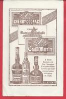 Buvard Cherry Cognac Marnier Lapostolle Grand Marnier Dim 235mmx148mm N02 - Liquor & Beer
