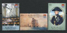 Kiribati 2005 Bicentenary Of The Battle Of Trafalgar - 2nd Issue - Set MNH (SG 743-45) - Kiribati (1979-...)