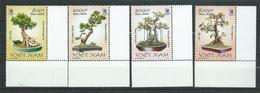 Vietnam Viet Nam 2004 Vietnamese Bonsai Trees.MNH - Viêt-Nam