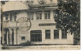Banque Française De L' AOF à Douala Cameroun Edit Favrat Vers Docteur Chevrier Ambrieres Mayenne Bank - Cameroun