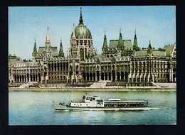 Hungría. Budapest *Parliament* Foto: MTI Vitályos József. Circulada 1971. - Hungría